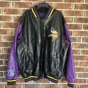 NFL Minnesota Vikings Letterman Jacket